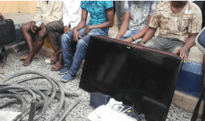 Notorious Gang Members, Electric Cable Thieves Arrested By Police In Abia. Photo